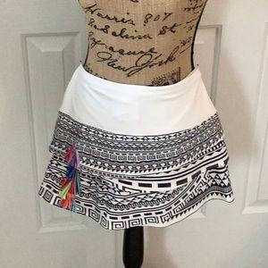 Lucky in a Love Way Cute Tennis Skirt